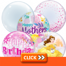 Bubble Balloons - Qualatex